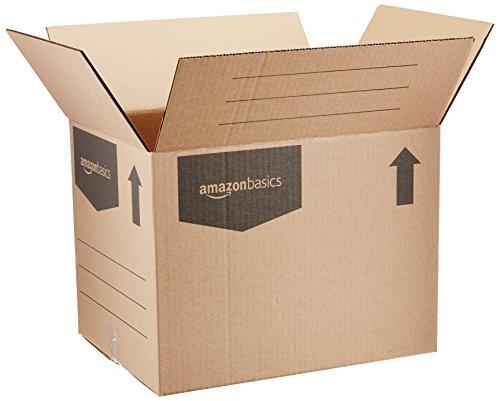 AmazonBasics Moving Boxes - Small, 15-Pack