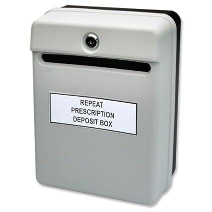 rot interner Briefkasten Helix Vorschlagsbox