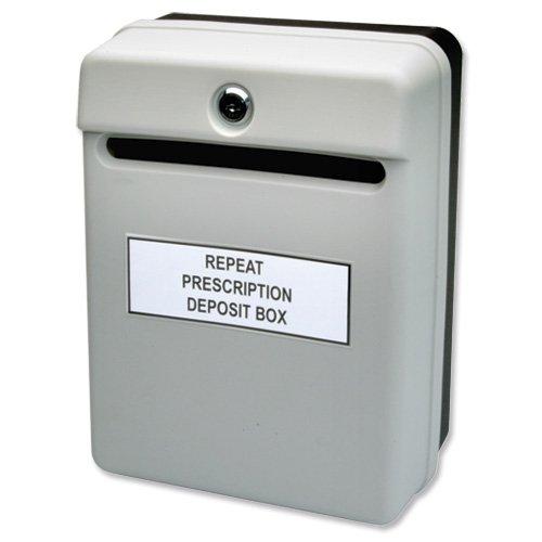 Helix - Buzón de sugerencias (uso interior), color gris Helix Oxford W81065
