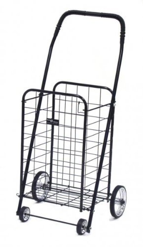 Narita Trading Easy Wheels Mini Shopping Cart, Black