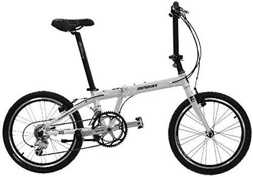 HASA Folding Foldable Bike Compatible with Shimano 18 Speed 20 Inch