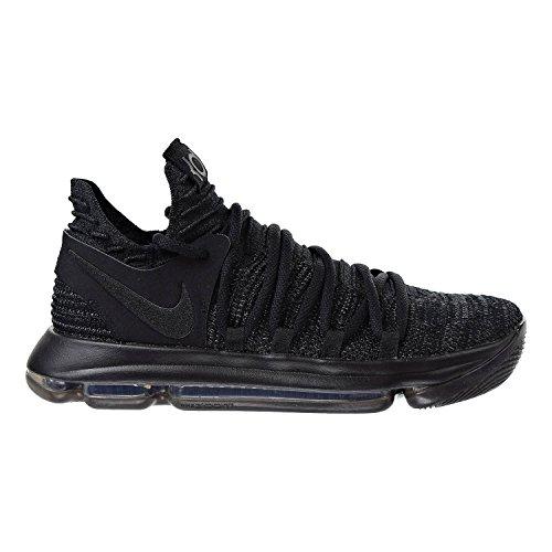 43554c14d6c1 NIKE Zoom KD10 Men s Basketball Shoes Black Black- Dark Grey 897815-004 (