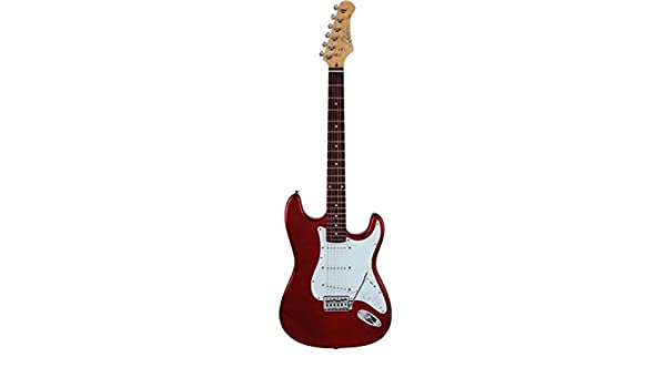 Guitarra eléctrica Solid Body Eko S-300 Red: Amazon.es ...