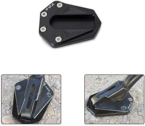 Nrpfell Pedana di Prolunga per Cavalletto Laterale nel Alluminio CNC nel Alluminio per Moto Ingrandimento per Benelli TRK 502 2017-2018 Accessori Moto