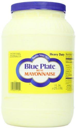 - Blue Plate Mayonnaise Extra Heavy, 128-Ounce by Blue Plate