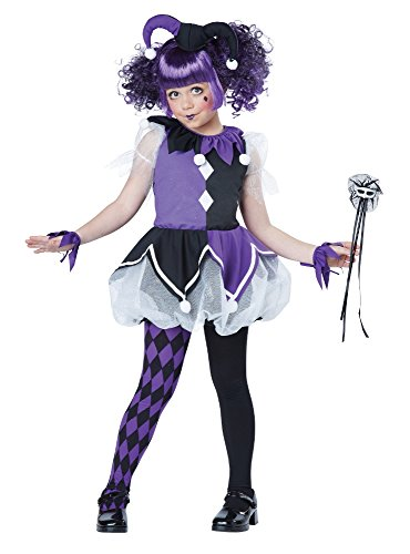 California Costumes Jester Girl Costume, One Color, (Girl Jester Costumes)