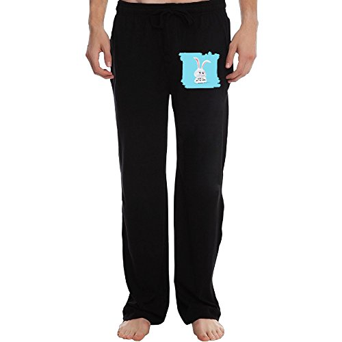 PTR Men's The Secret Life Of Pets6 Sweatpants Color Black Size XXL