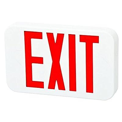 Fulham FHEX20WREM FireHorse Mini LED Emergency Exit Sign, White