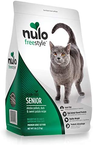 Nulo Senior Freestyle Grain Free Dry Cat Food for Digestive Immune Health