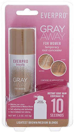 Gray Away Womens Hair Highlighting Product Lightest BrownBlond 15 Ounce