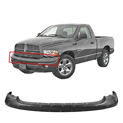 MBI AUTO - Primered, Front Bumper Upper Cover for 2002 Dodge Ram 1500 & 2003-2005 Ram 1500 2500 3500 Pickup 03 04 05, CH1000338