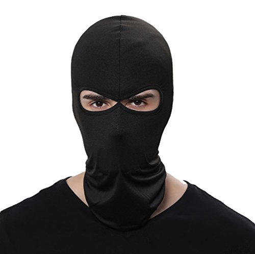 GANWAY Wind Cap Motorcycle Ski Masks Balaclavas Outdoor Sports Cycling Hat (Black)]()