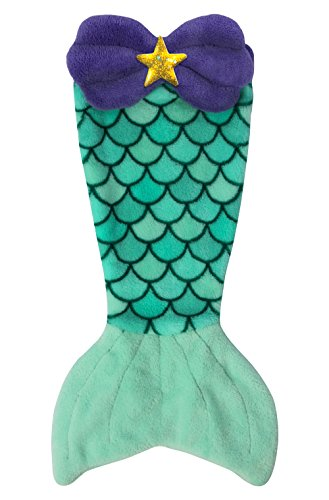 [Cuddle Tails Mermaid Tail Blanket for 18 Inch Doll like American Girl - Bikini Beach - Blanket Only, Doll Not Included] (Fairytopia Barbie Costume)