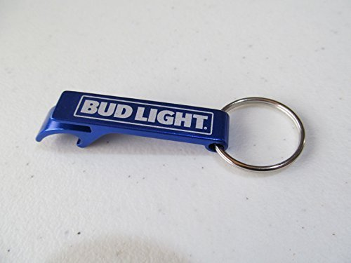 Bud Light Wrench Bottle Opener Keychain - New Style 2016 - Budweiser Bottle
