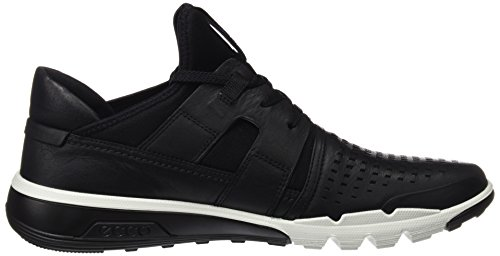 Ecco Mænds Iboende 2 Perforeret Mode Sneaker Sort / Sort 457xO