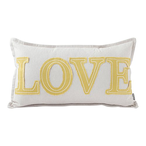Hallmark Home Decorative Throw Pillow with Insert (20x12 inch)