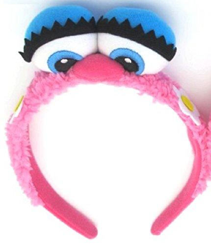 Fairy Abby Gadabby Costume Tutu Dress/Headband/ Wings from Chunks of Charm (Abby Eyes Headband, Pink)