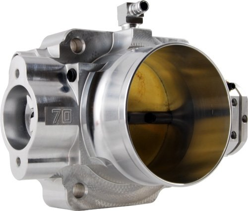 Blox Racing (BXIM-00202) 70mm Billet Throttle Body for Honda B/D/H Series (Honda Civic Throttle Body)