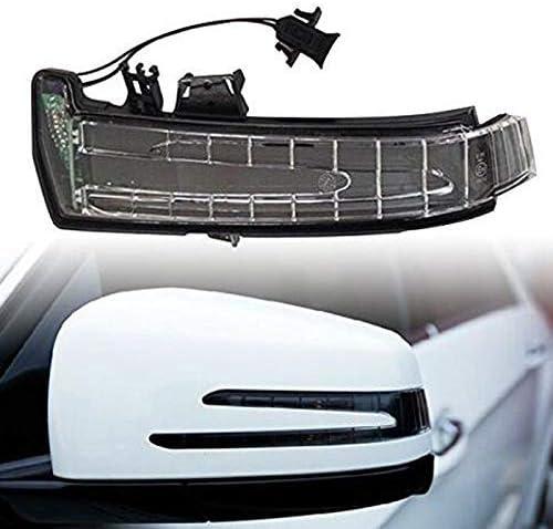 A3159539C LHQ-HQ Car Blind Spot Mirror//Car DC12V 1.8W LED Left Side Rear View Mirror Turn Signal Light Indicator Lamp A3159540C A2129067501 for Mercedes-Benz