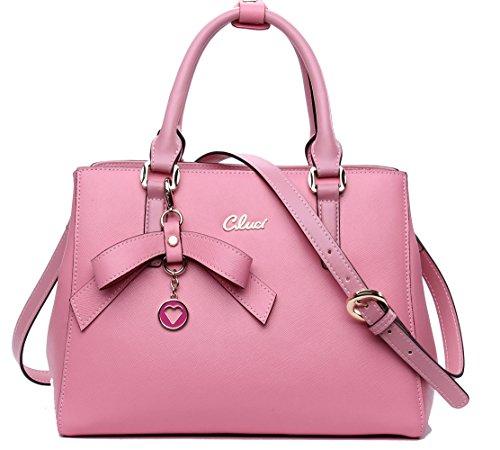 Pink Satchel Handbags - 6
