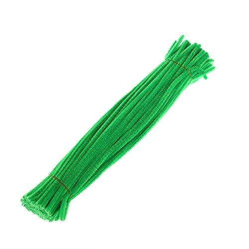 Lot de 100tiges chenilles Beiguoxia pour artisanat DIY, jouet éducatif pour enfants, Couleur 10#, Taille unique