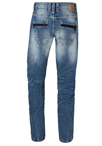 3135 Straight Ryantz Wash Indigo Vaqueros para Azul Regular Timezone Hombre Light Cqtv5