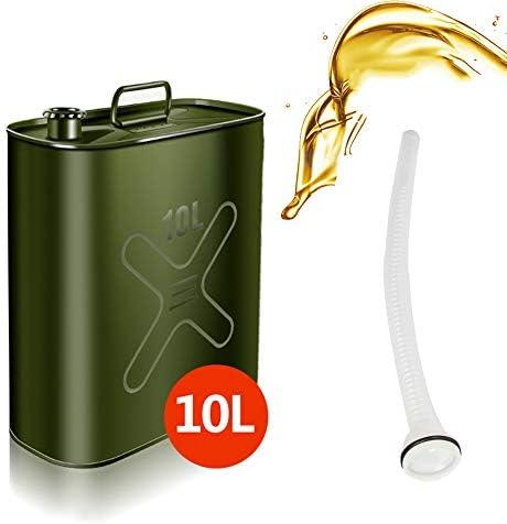 ガソリン缶 携帯 燃料貯蔵容器 バックアップタンクカテーテル付き防爆ガソリンディーゼル油燃料容器車用緊急対応用品