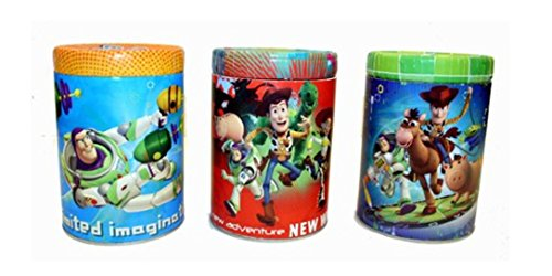 Toy Story Coin Bank Tin Bundle: 3 Items - 1 Each Style