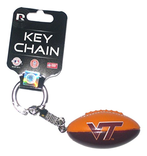 Virginia Tech Hokies Football Style Key Chain ()
