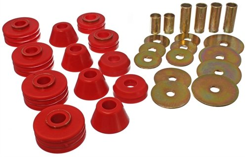 Energy Suspension 3.4109R Body Cab Mount Set Fits C10 Pickup C15/C1500 C1500