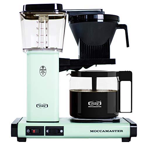 Technivorm Moccamaster 53951 KBG Pistachio Green Coffee Brewer, 40 oz,