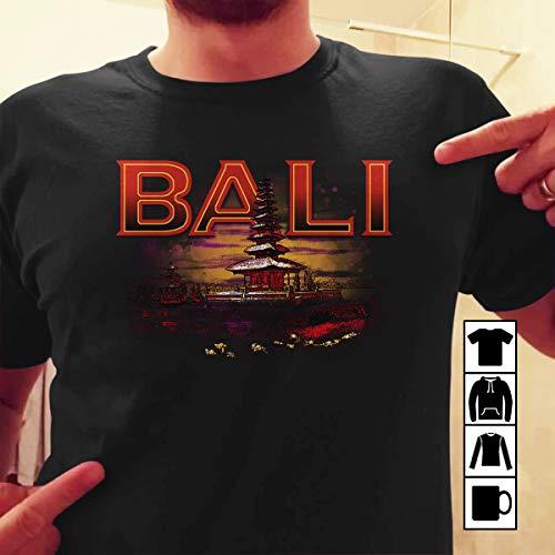 (Bali temple Travel T Shirt Long Sleeve Sweatshirt Hoodie Youth)