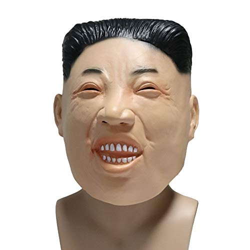 CoserWorld Realistic Halloween Full Face Latex Kim Jong Un Mask Latex Mask -