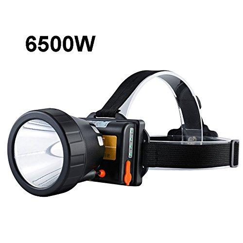 MUTANG Led Fishing Headlight Glare rechargeable bright waterproof miner's head flashlight long-range searchlight 2500W.2800W,6500W (Color : C)