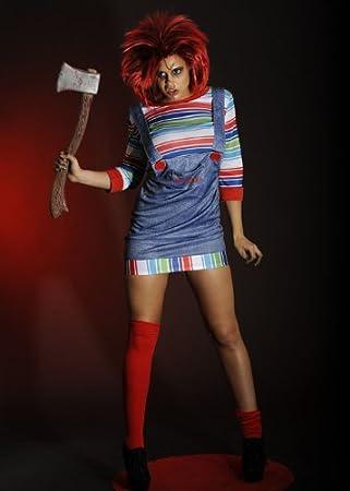Para mujer Sexy disfraz de Chucky XL (UK 18 – 20)