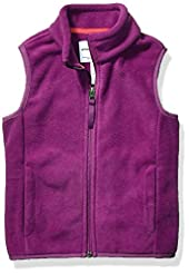 Amazon Essentials Girl's Polar Fleece Ve...
