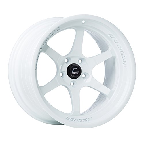 Cosmis Racing XT-006R 18x11 +8mm 5x114.3 White Rim Wheel
