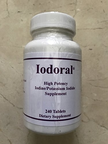 Optimox - Iodoral, High Potency Iodine Potassium Iodide Thyroid Support Supplement, 180 Tablets (240 Tablets) by Optimox