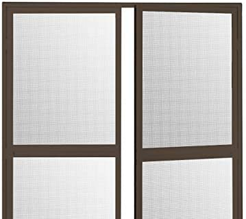 Duo Pro - Mosquitera con bisagras para puerta abatible, aluminio ...