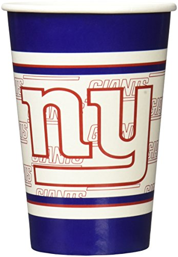 New York Giants House (NFL New York Giants Disposable Paper Cups (20-Pack))