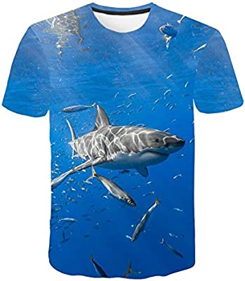 GJCDGPZTX 3D T-Shirt Camiseta De Fibra De Viscosa Modificada Fish Impresión 3D Camiseta De Hip-Hop para Hombres Y Mujeres Camiseta De Pesca Camiseta De Pesca: Amazon.es: Deportes y aire libre
