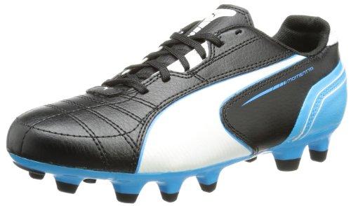 Puma Momentta FG Jr Unisex-Kinder Fußballschuhe Gelb (black-white-fluo blue 07)