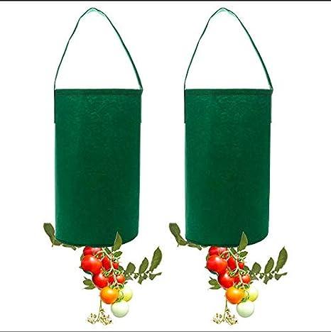 JYCRA 2 Bolsas de Cultivo para Tomate, Bolsa de Fieltro para ...