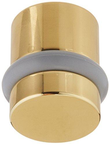 (Baldwin Estate 4505.030 Modern Floor Bumper in Polished Brass, 1.18