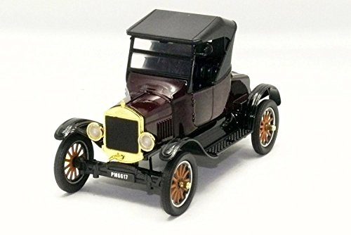 Motor Max 1925 Ford Model T Runabout, Brown 79317PTM - 1/24 Scale Diecast Model Toy Car -