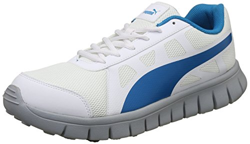 Puma Unisex's White-Hawaiian Ocean-Quarry Running Shoes-9...