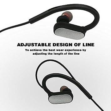 Earphone Deportes en la Oreja, Deporte Auricular Bluetooth M11 Auriculares inalámbricos Bluetooth con micrófono para