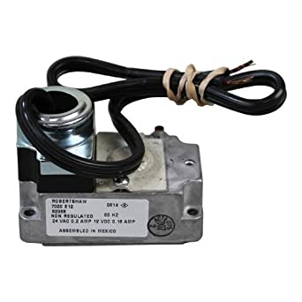pitco p5045005 gas valve actuator 24v w wire leads for