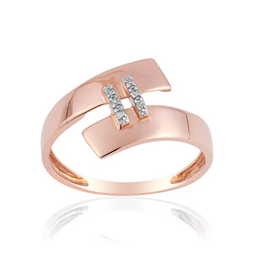 Bague CLEOR Or 375/1000 Diamant - Femme