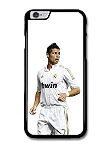 Cristiano Ronaldo Playing Real Madrid CF Football Player case for iPhone 6 Plus by runtopwell